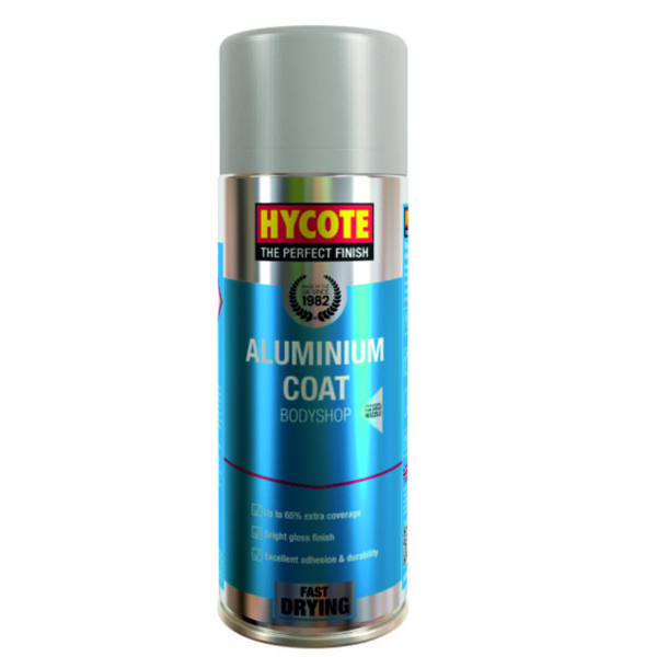 Hycote Aluminium Coat Body Shop 400ml