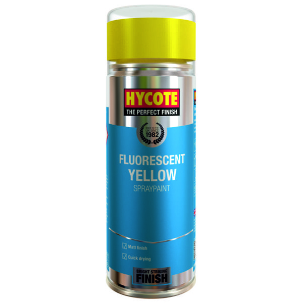 Hycote Fluorescent Yellow 400ml