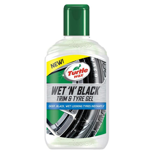 Turtlewax Wet N Black Trim & Tyre Gel 300ml
