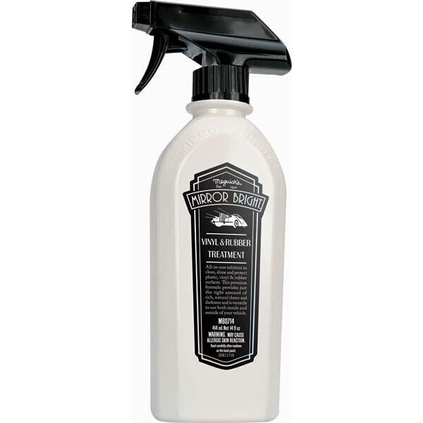 Meguiars Mirror Bright Rubber & Vinyl Treatment 414Ltr