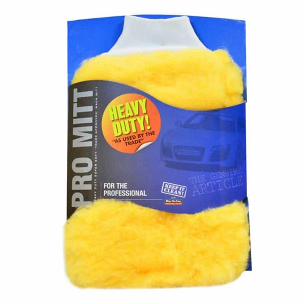 Trade Quality Super Large Wash Mitt Heavy Duty