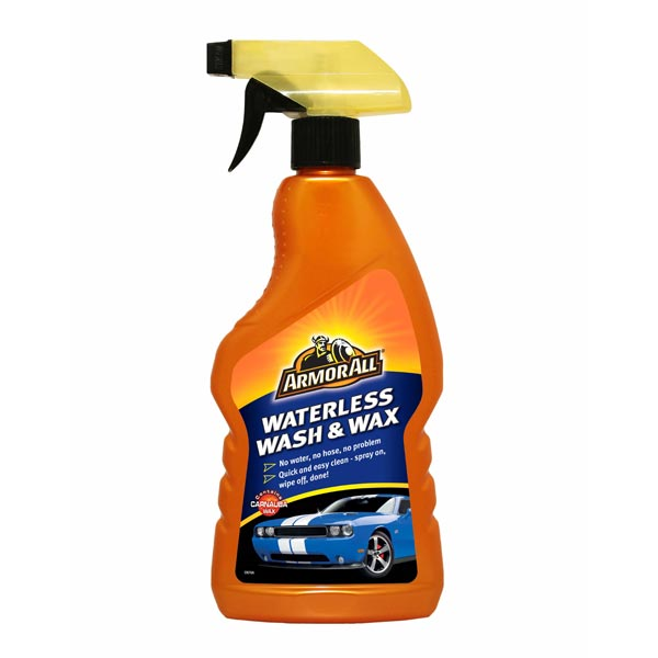 Armorall Waterless Wash And Wax Trigger Spray