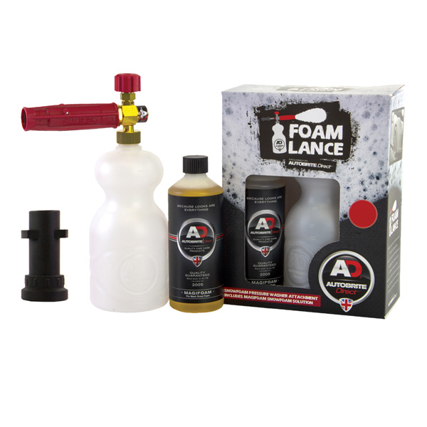 Autobrite Snow Foam Lance for (Karcher K series Domestic washers) with Magifoam