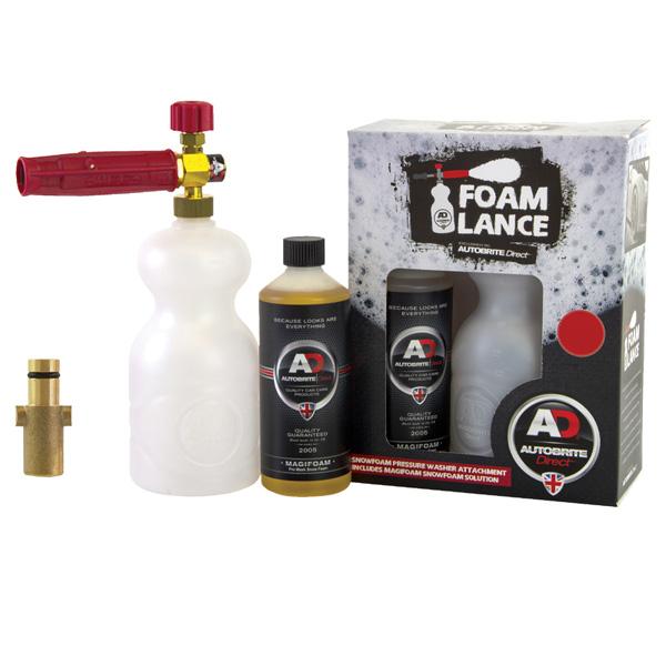 Autobrite Snow Foam Lance Nilfisk Pro with Magifoam