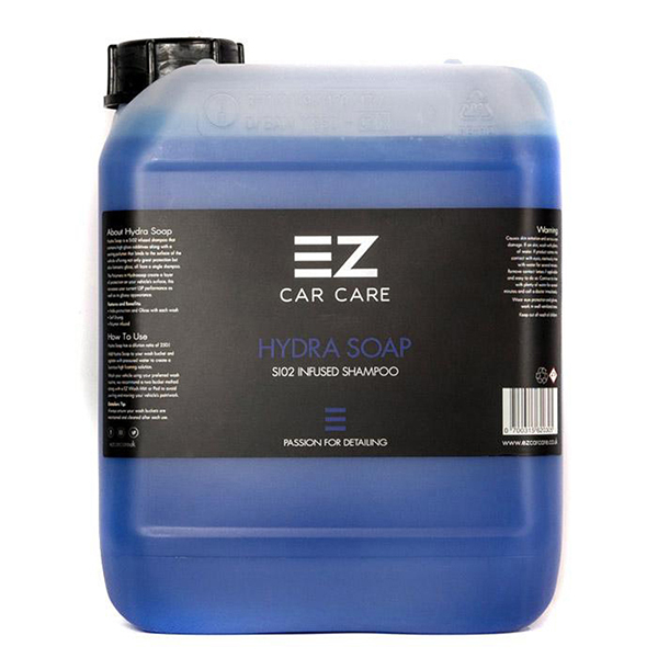 EZ Car Care Hydra Soap 5 litre Shampoo (Ceramic Infused)