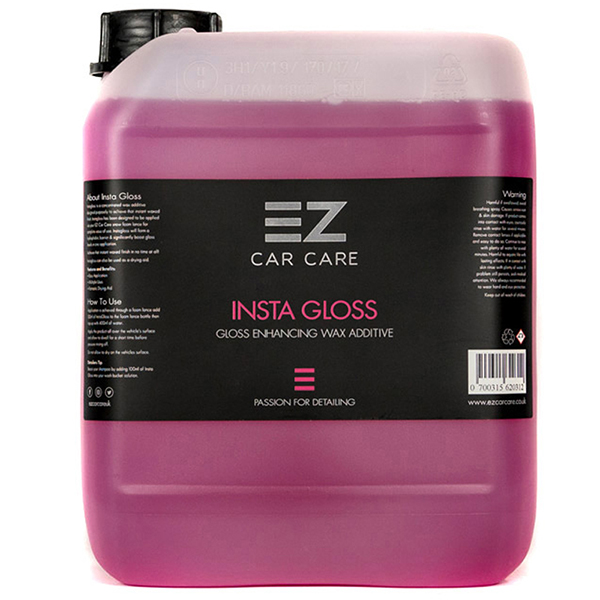 EZ Car Care Insta Gloss 5 litre Wax (Ceramic Rinse)