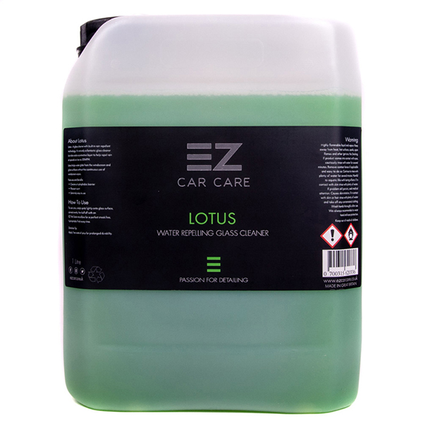 EZ Car Care Lotus 5 litre Glass Care (Ceramic Infused)
