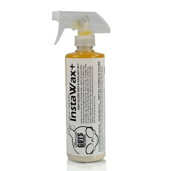 Chemical Guys Instawax+ Liquid Carnauba Shine And Protection Spray - 16 Oz