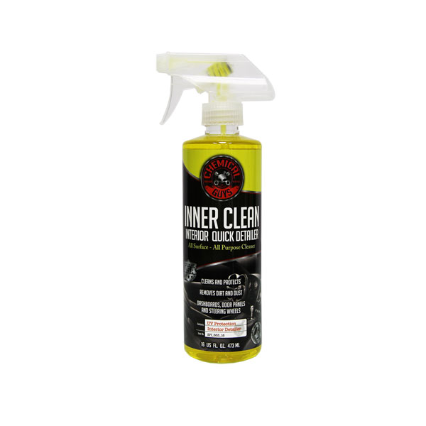 Chemical Guys Innerclean - Interior Quick Detailer & Protectant - 16 Oz