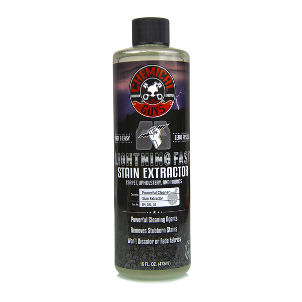 Chemical Guys Lightning Fast Carpet & Upholstery Stain Extractor - 16 Oz