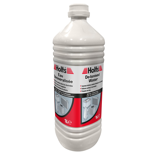 Holts De-ionised Water 1Litre