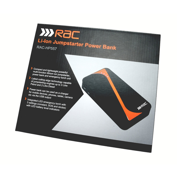 RAC 400 Amp Jump Starter Power Bank