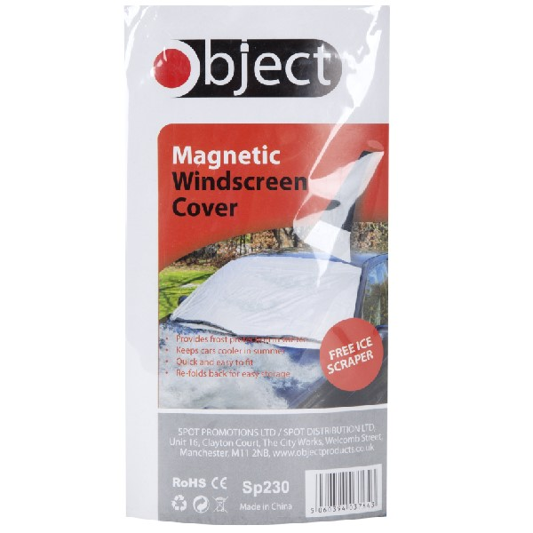 Object Magnetic Windscreen Cover + Free Ice Scraper