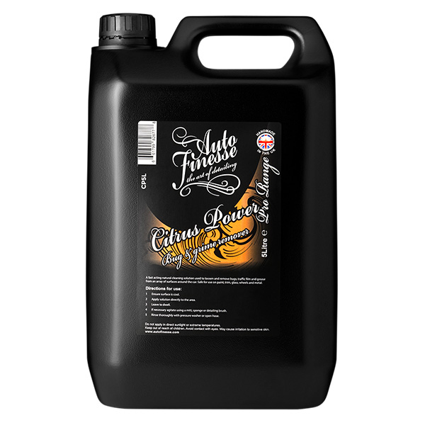 Auto Finesse Citrus Power Bug & Grime Remover 5L