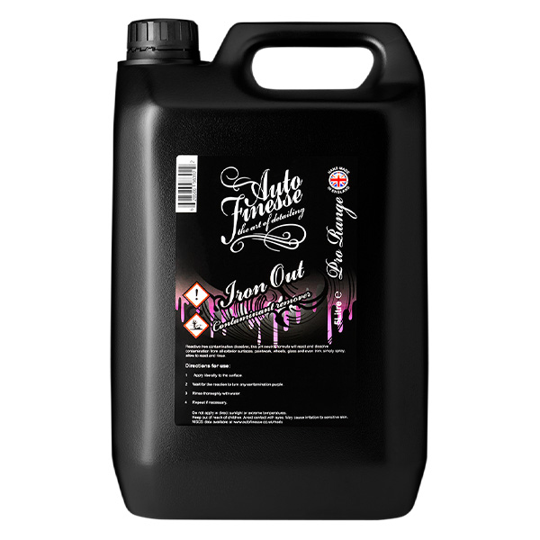 Auto Finesse Iron Out Contaminate Remover 5L