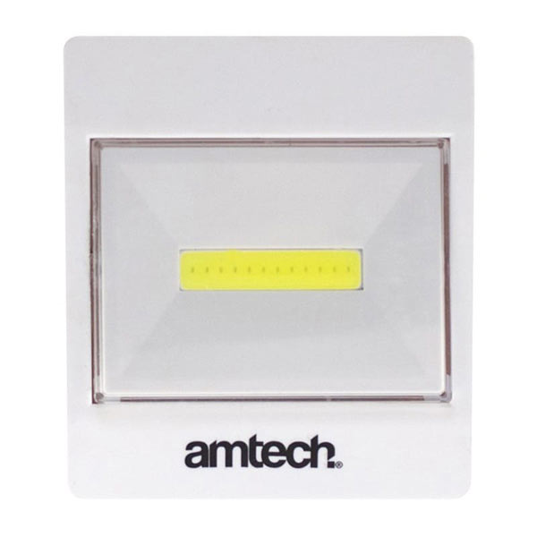 Am-Tech 3W Cob Switch Light (145 Lumen)