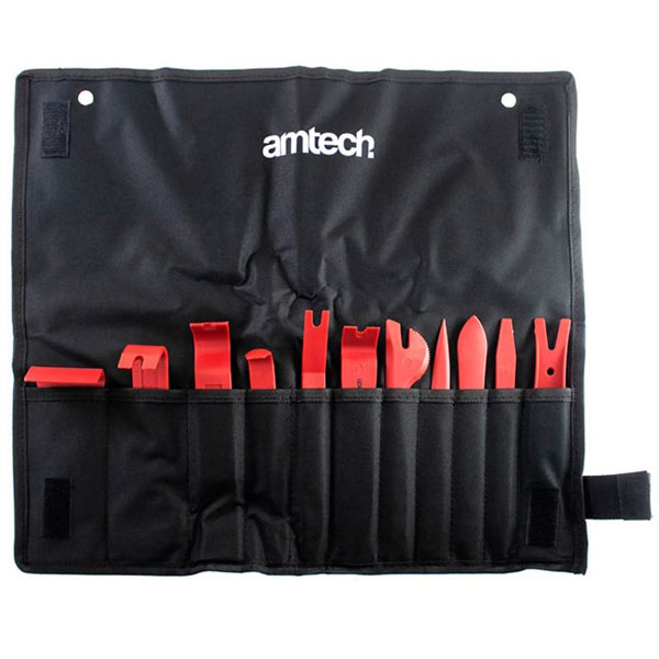 Am-Tech 11Pc Car Trim And Panel Removal Tool Kit