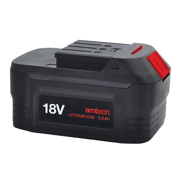Am-Tech 18V 3A Li-Ion Battery For Impact Wrench