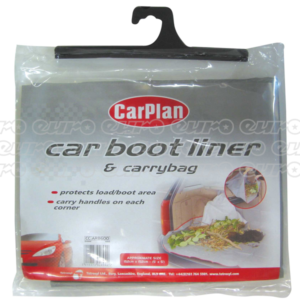 Carplan Boot liner/Carry bag 1.5m x 1.5m