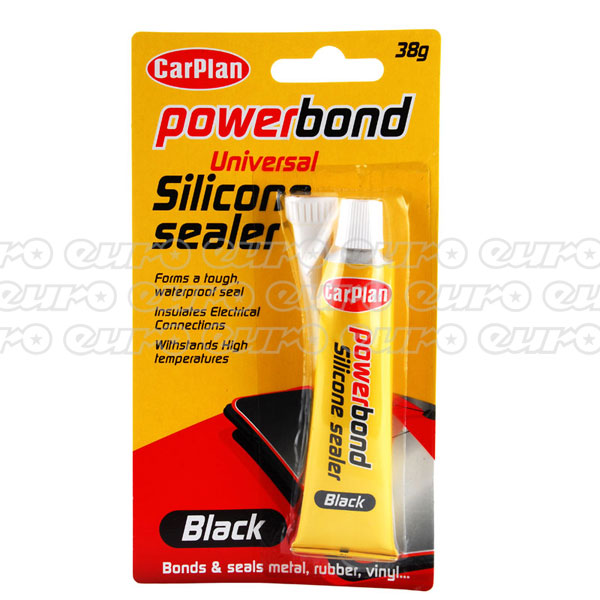 Carplan Powerbond Black Silicone Sealer 38g