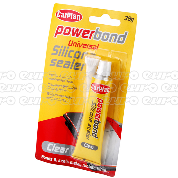 Carplan Powerbond Clear Silicone Sealer 38g