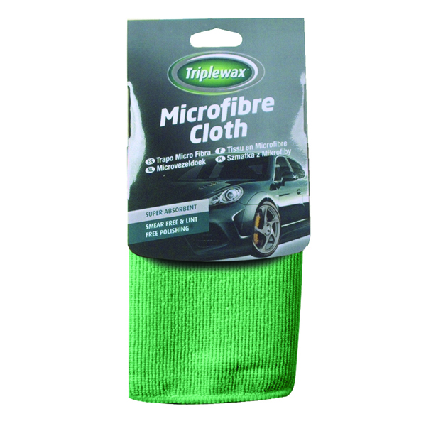 Carplan Triplewax Microfibre Cloth