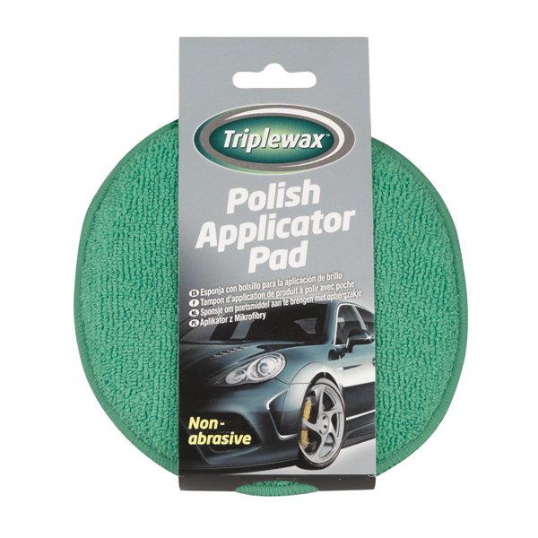 Carplan Triplewax Polish Applicator Pad