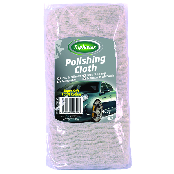 Carplan Triplewax Polishing Cloth 400g