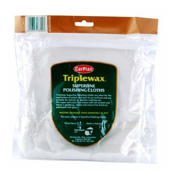 Carplan Triplewax Superfine Polishing Cloth