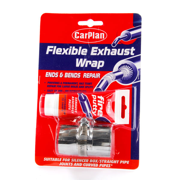 Carplan Flex Exhaust Wrap Ends and Bends Repair