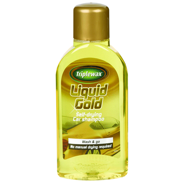 Carplan Triplewax Liquid Gold Shampoo 500ml