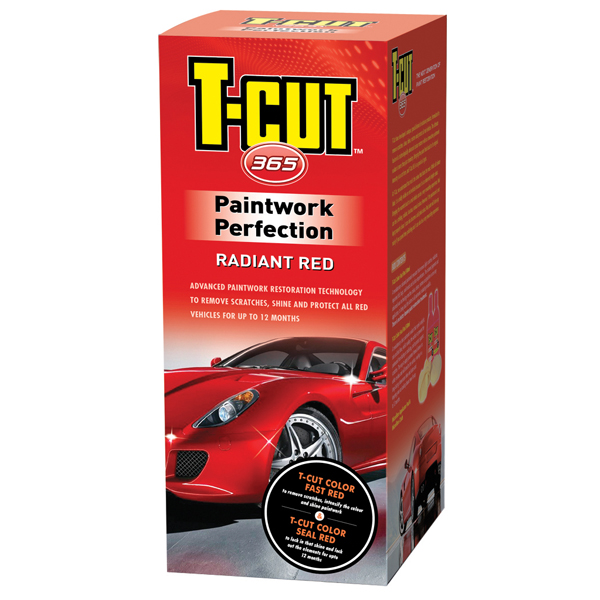 T-Cut Paintwork Perfection Kit - Red