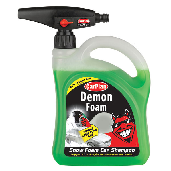 Carplan Demon Wash Snow Foam Shampoo - 2 Litre - with Gun