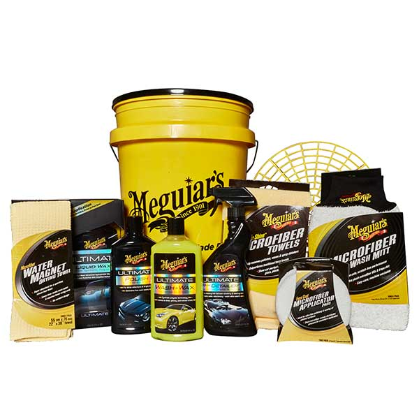 meguiars 12pc ultimate polish wax bucket kit euro car. Black Bedroom Furniture Sets. Home Design Ideas