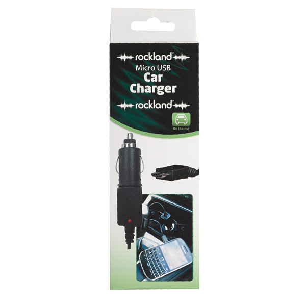 Rockland Rockland Car Charger To Micro USB