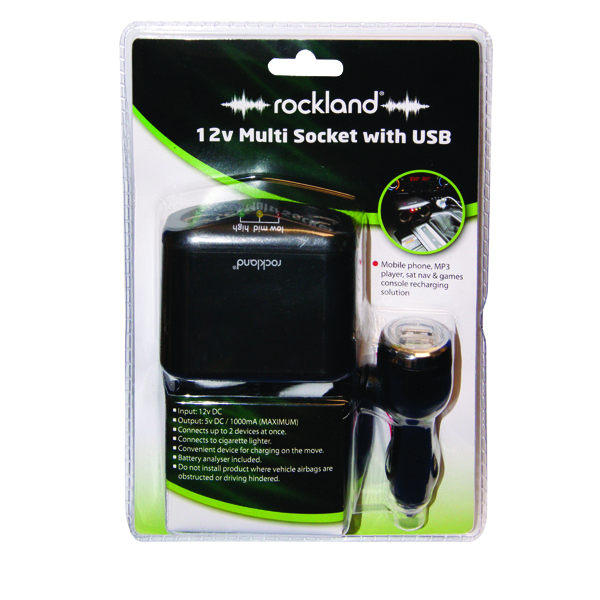 Rockland 12V Multi Socket With USB