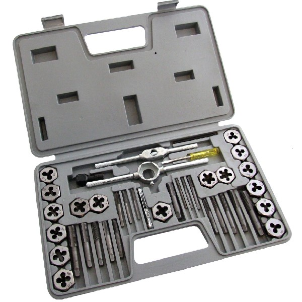 40pc Tap & Die Set In Case