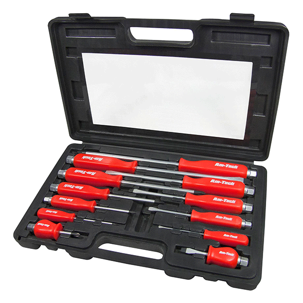 Am-Tech Mechanics Screwdriver Set