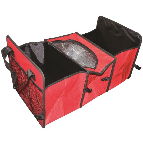 Streetwize 2 in 1 Collapsible Car Boot Organiser with Cooler Storage