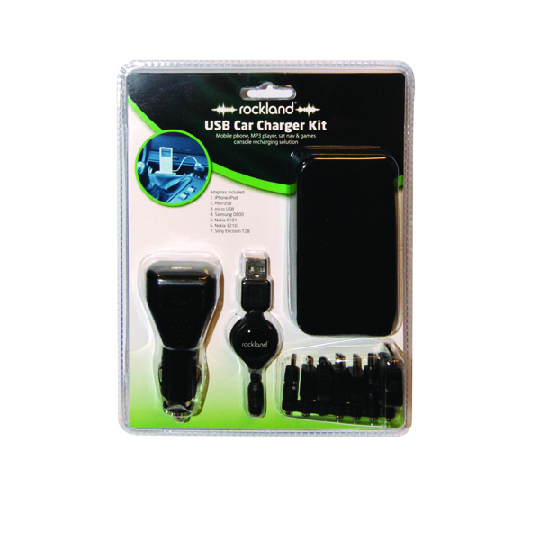 Rockland Rockland Car Charger Kit