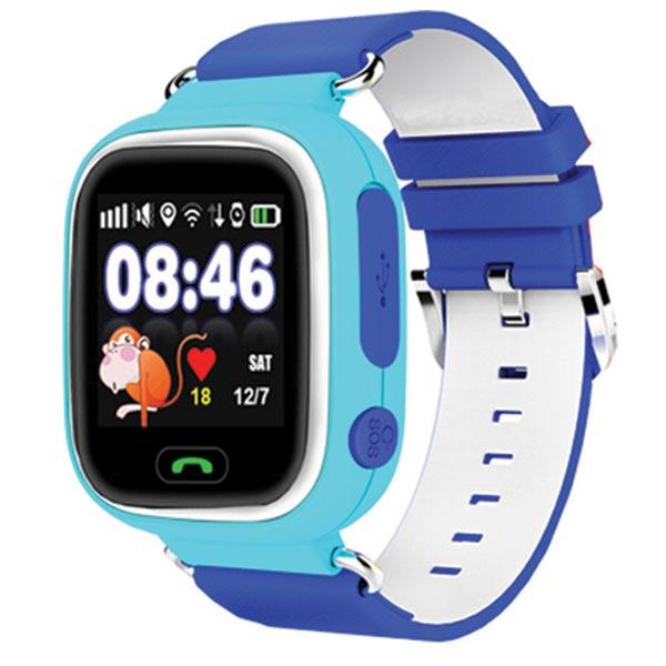 Streetwize Kids GPS Tracker Watch - Blue