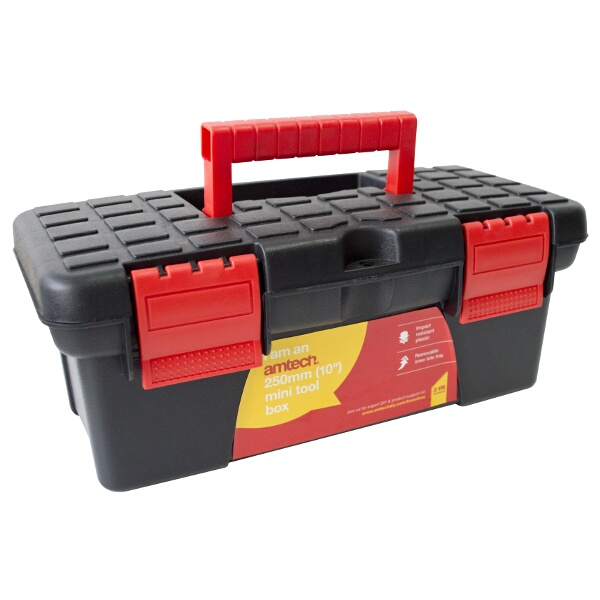 "Am-Tech 10"" Mini Tool Box"