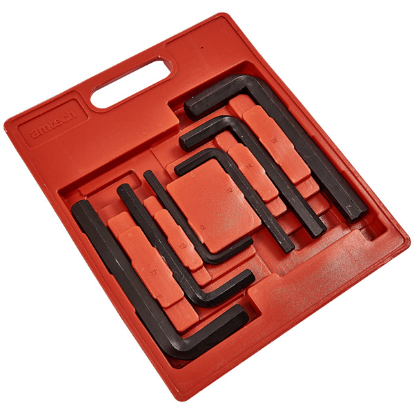 Am-Tech 6pc Jumbo Hex Key Set