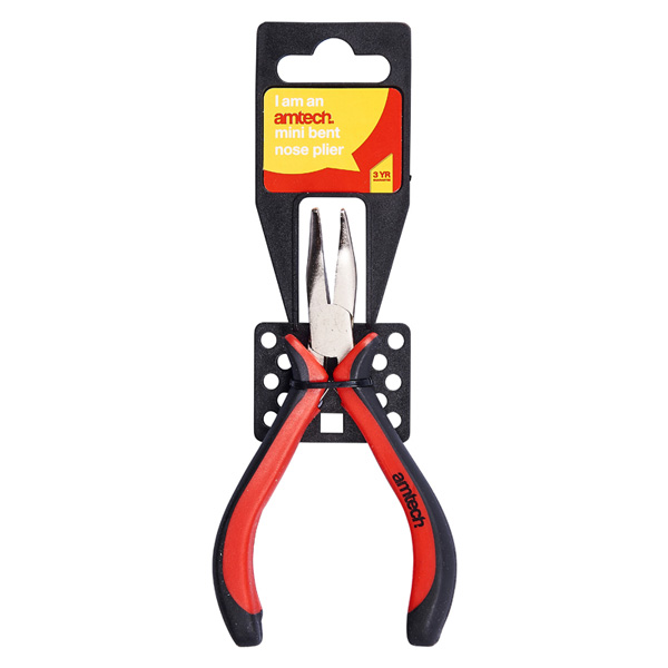 Am-Tech Mini Bent Nose Plier - Pro