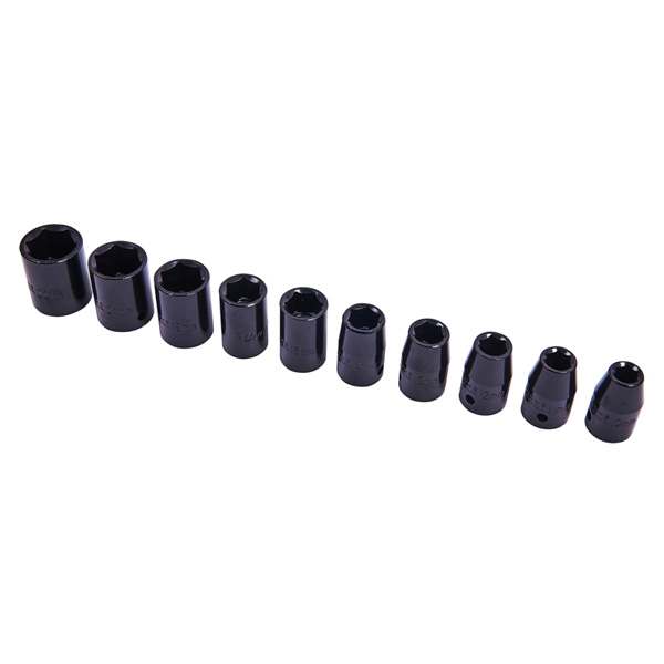 Am-Tech 10pc 1/2Inch Impact Socket Set