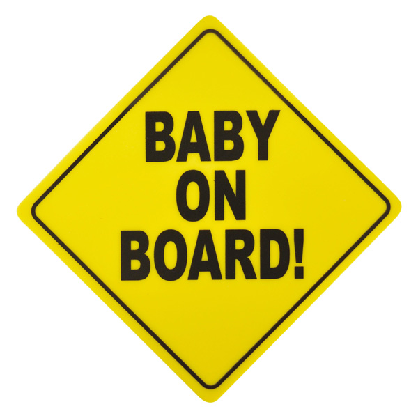 Sign Baby On Board Carkids