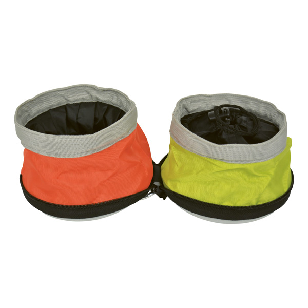 2-In-1 Zip And Go Pet Travel Disc Bowl