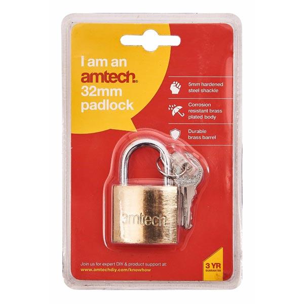 amtech 32mm Padlock