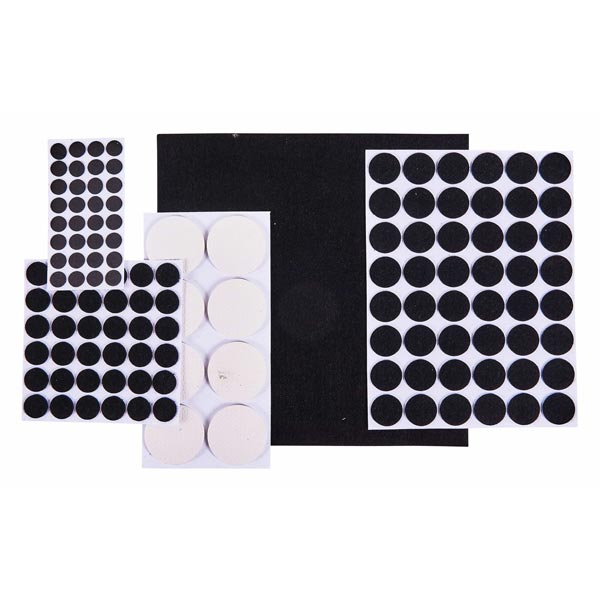 Am-Tech 125pc Floor Protector Furniture Pads