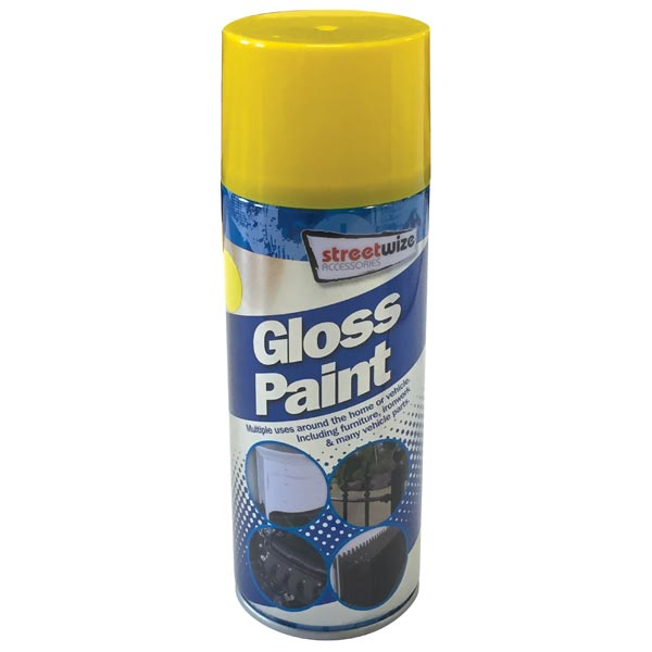 Streetwize Yellow Gloss Paint